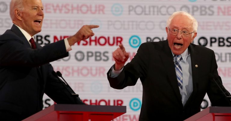 Democratic presidential candidates get testy over 'Medicare for all'