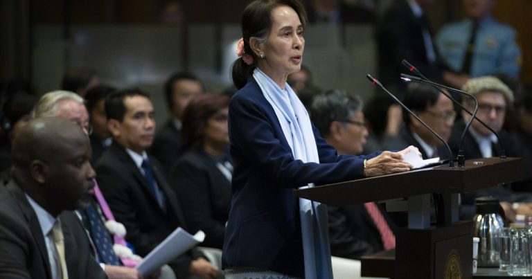 Myanmar's Aung San Suu Kyi dismisses claims of genocide at The Hague