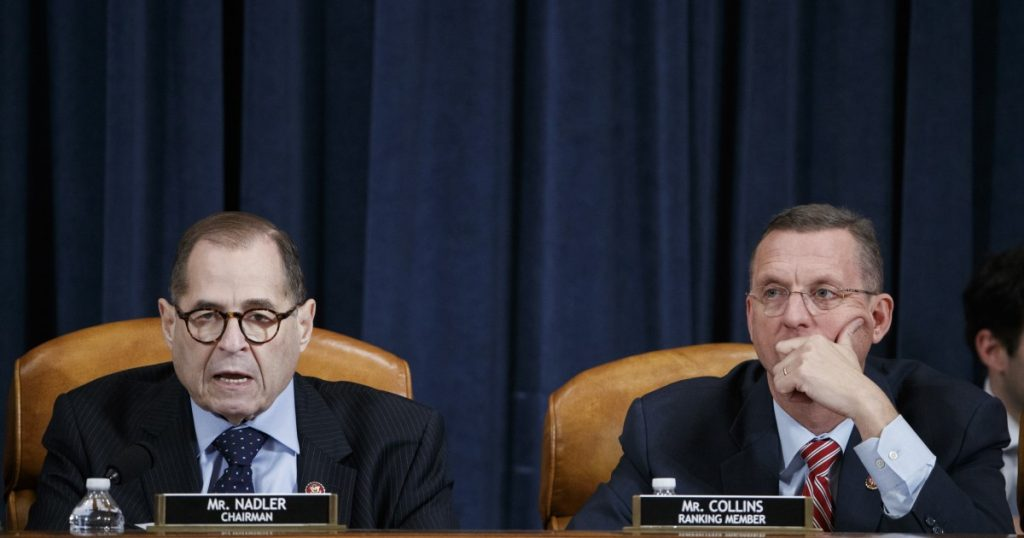House Judiciary Committee prepares for historic vote on impeachment articles against Trump